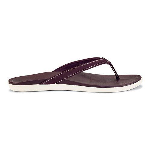 Womens OluKai Ho'opio Sandals Shoe - Dark Plum/Plum 8