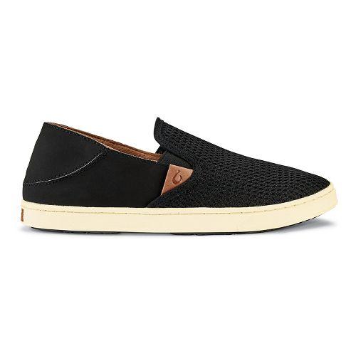 Womens OluKai Pehuea Casual Shoe - Black/Black 7