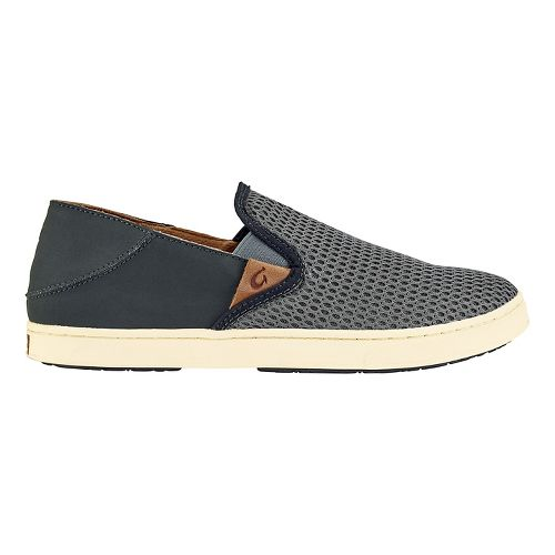 Womens OluKai Pehuea Casual Shoe - Charcoal/Shadow 9.5