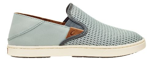 Womens OluKai Pehuea Casual Shoe - Pale Grey/Charcoal 7.5