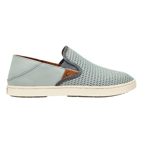 Womens OluKai Pehuea Casual Shoe - Pale Grey/Charcoal 8