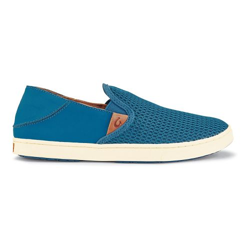 Womens OluKai Pehuea Casual Shoe - Ocean/Ocean 7.5