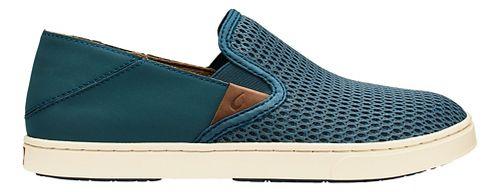 Womens OluKai Pehuea Casual Shoe - Stormy Blue/Blue 6.5