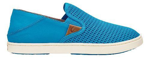 Womens OluKai Pehuea Casual Shoe - Vivid Blue/Vivid Blue 6.5