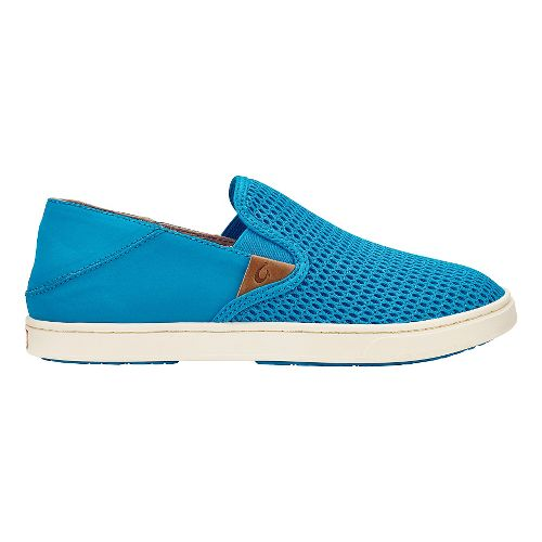 Womens OluKai Pehuea Casual Shoe - Vivid Blue/Vivid Blue 11