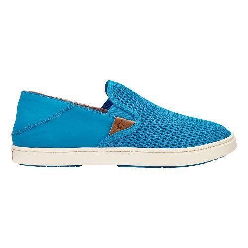 Womens OluKai Pehuea Casual Shoe - Vivid Blue/Vivid Blue 5