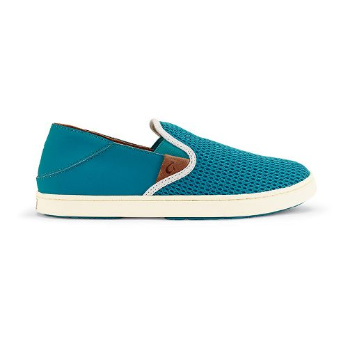 Womens OluKai Pehuea Casual Shoe - Teal/Teal 8.5