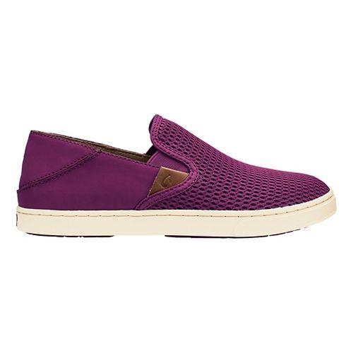 Womens OluKai Pehuea Casual Shoe - Magenta/Magenta 8.5