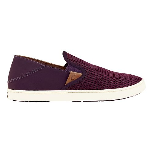 Womens OluKai Pehuea Casual Shoe - Pokeberry 7