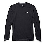 Mens Under Armour Charged Wool Run Long Sleeve No Zip Technical Tops