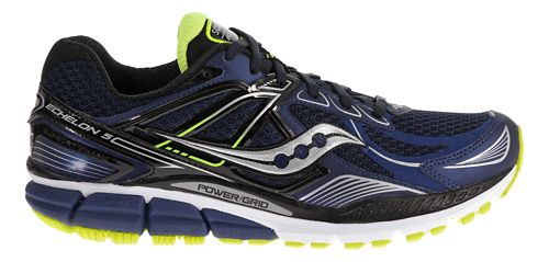 Mens Saucony Echelon 5 Running Shoe - Navy/Black 9