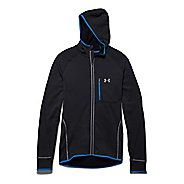 Mens Under Armour Charged Wool Run Hoody Outerwear Jackets