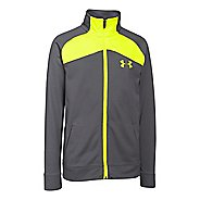 Under Armour Boys Brawler 2.0 Full-Zip Warm Up Unhooded Jackets