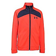 Kids Under Armour Brawler 2.0 Full-Zip Warm Up Unhooded Jackets