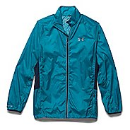 Mens Under Armour Storm Coldgear Infrared Packable Outerwear Jackets - Pacific/Academy XL