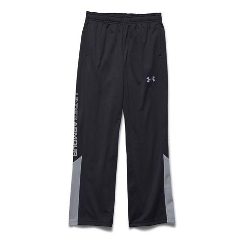 Under Armour Boys Brawler 2.0 Pants - Black/Steel YXS