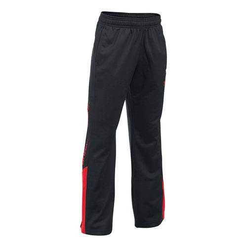 Under Armour Boys Brawler 2.0 Pants - Black/Red YL