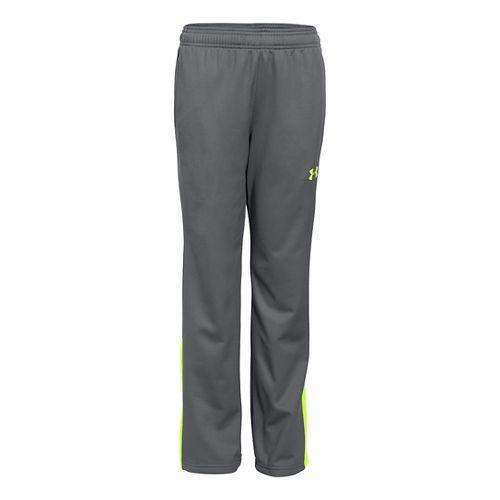 Under Armour Boys Brawler 2.0 Pants - Graphite/Green YXS