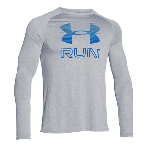 Men's Under Armour�Big Logo Reflective Run Longsleeve T