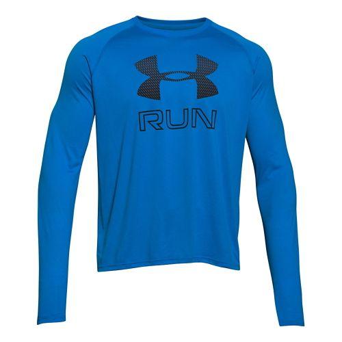 Men's Under Armour�Big Logo Reflective Run Longsleeve T