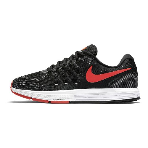 Mens Nike Air Zoom Vomero 11 Running Shoe - Black/Orange 9.5