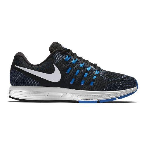 Mens Nike Air Zoom Vomero 11 Running Shoe - Black/Blue 10