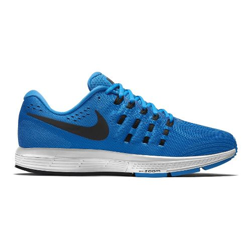 Mens Nike Air Zoom Vomero 11 Running Shoe - Black/Blue 9.5