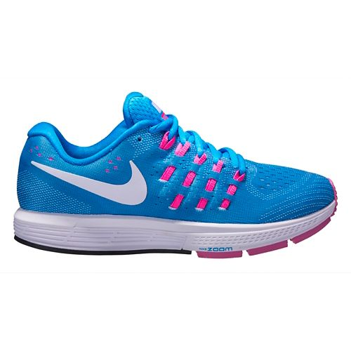 Womens Nike Air Zoom Vomero 11 Running Shoe - Blue 8