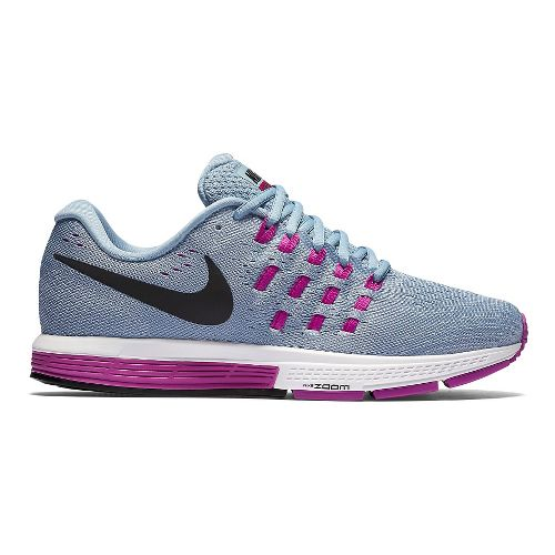 Womens Nike Air Zoom Vomero 11 Running Shoe - Blue Grey 7.5