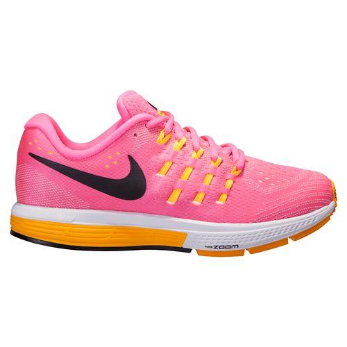 Womens Nike Air Zoom Vomero 11 Running Shoe - Black/Pink 6.5