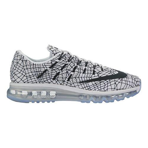 Mens Nike Air Max 2016 Print Running Shoe - Platinum 8.5
