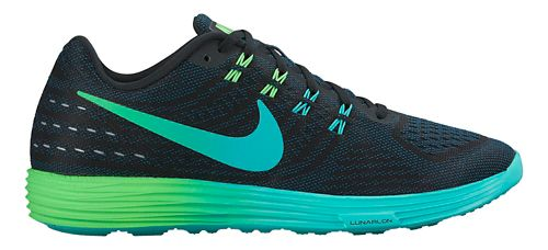 Mens Nike LunarTempo 2 Running Shoe - Black/Rio 11.5