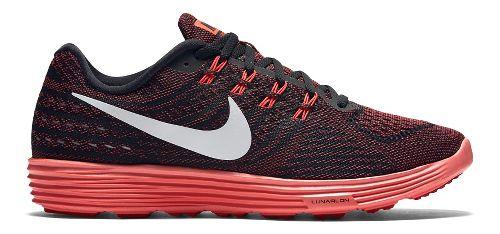 Mens Nike LunarTempo 2 Running Shoe - Black/Red 11.5