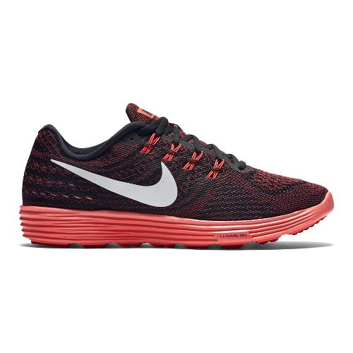 Mens Nike LunarTempo 2 Running Shoe - Black/Red 12