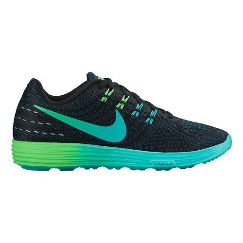 Womens Nike LunarTempo 2 Running Shoe - Black/Rio 7