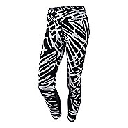 Womens Nike Power Epic Lux Crop Print Capris Pants