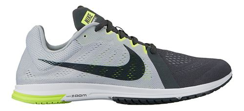 Nike Zoom Streak LT 3 Racing Shoe - Grey/Black 14