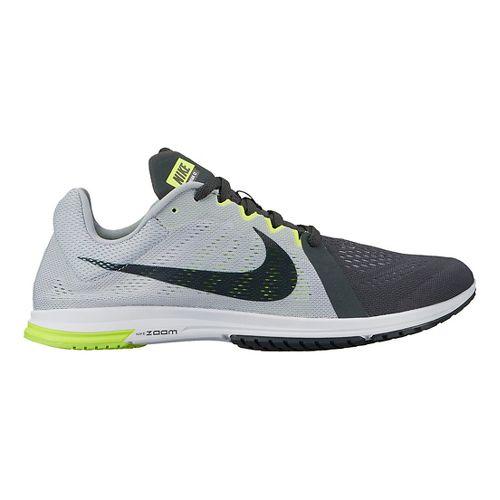 Nike Zoom Streak LT 3 Racing Shoe - Grey/Black 5.5