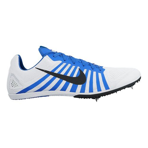 Nike Zoom D Track and Field Shoe - White/Blue 13