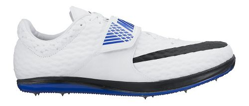 Nike High Jump Elite Track and Field Shoe - White/Blue 11.5