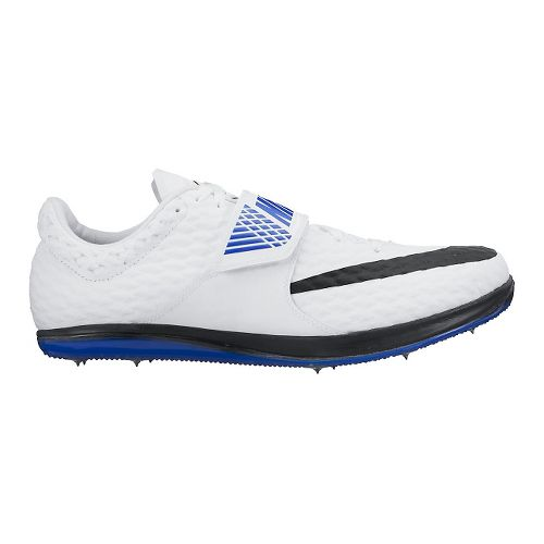 Nike High Jump Elite Track and Field Shoe - White/Blue 11.5