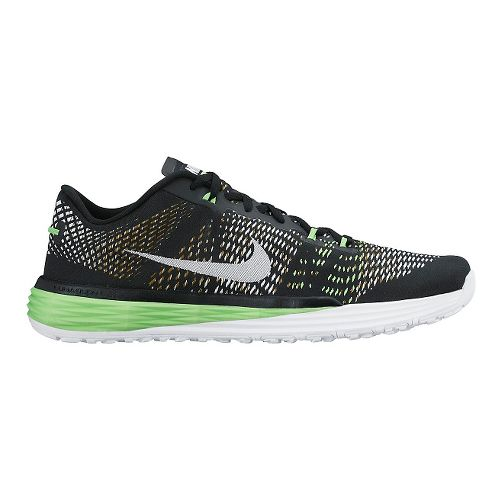 Mens Nike Lunar Caldra Cross Training Shoe - Black/Green 11.5