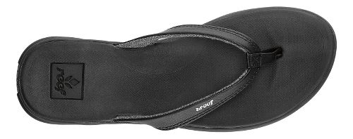 Womens Reef Rover Catch Sandals Shoe - Black 6