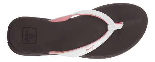 Womens Reef Rover Catch Sandals Shoe - White/Brown 7