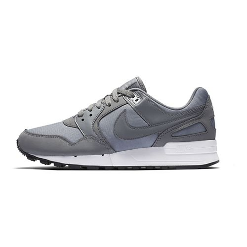 Mens Nike Air Pegasus '89 Casual Shoe - Black/Palm Green 10.5