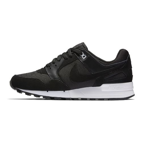 Mens Nike Air Pegasus '89 Casual Shoe - Black/Palm Green 12