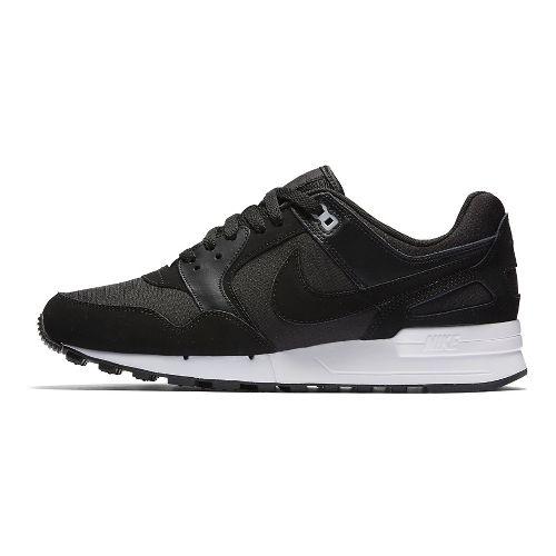 Mens Nike Air Pegasus '89 Casual Shoe - Black/Palm Green 12.5