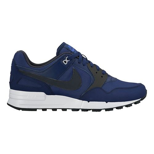 Mens Nike Air Pegasus '89 Casual Shoe - Blue/Anthracite 10