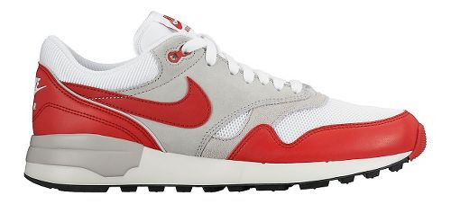 Mens Nike Air Odyssey Casual Shoe - White/Red 10