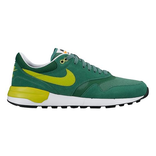 Mens Nike Air Odyssey Casual Shoe - Green 9.5